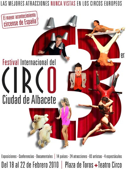 Международный фестиваль циркового искусства в городе Альбасете